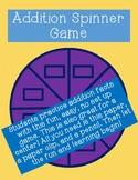 Addition Spinner Game!