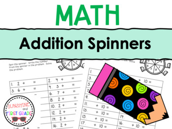 Addition Spinners