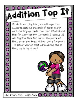 Addition Sports Top It!