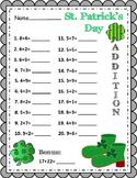 St. Patrick's Day ~ Addition