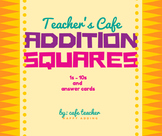 Addition Squares 1s