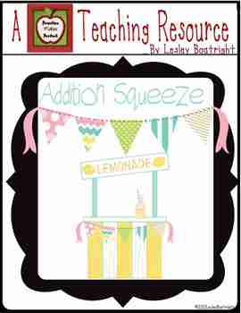 Addition  Squeeze:  Adding Facts to 10
