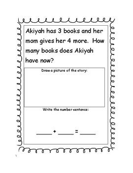 Addition Stories