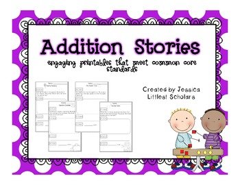 Addition Story Word Problems [K.OA.2]