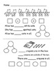 Addition Stories Practice Worksheets with pictures, number