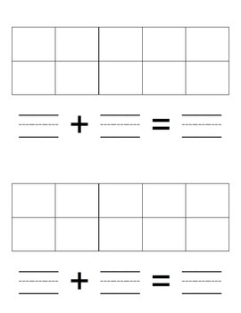 Addition Story Problem Book