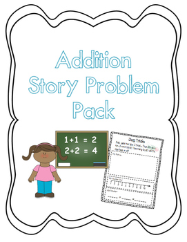 Addition Story Problem Pack