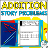 Addition Story Problems with Sums of Less than 20