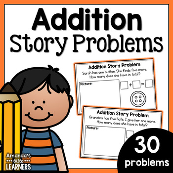Addition Story Problems - Volume Two