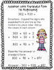 Addition Strategies Worksheets - Three Digit Expanded Form