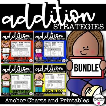 Addition Strategies BUNDLE