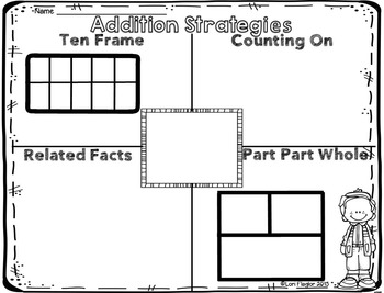 Addition Strategies Booklet