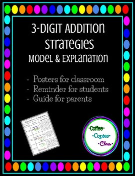 Addition Strategies Chart