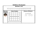 Addition Strategies Cheat-Cheat