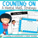 Counting On Addition Strategies Pack