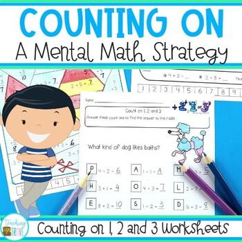 Counting On - Addition Strategy worksheets