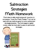 Subtraction Strategies Daily Practice