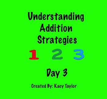 Addition Strategies Day 3 SmartBoard Slideshow