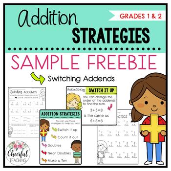 Addition Strategies FREEBIE