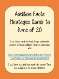 Addition Strategies Facts Practice Cards
