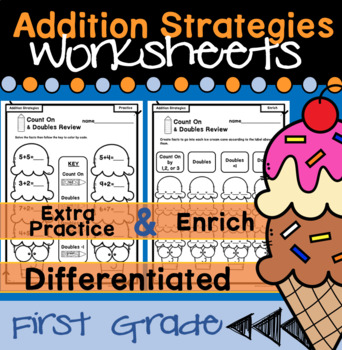 Addition Strategies First Grade