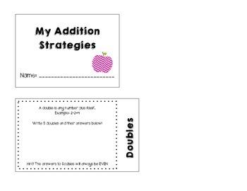 Addition Strategies Flipbook