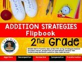 Addition Strategies Flipbook - 2nd Grade