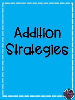 Addition Strategies Freebie!