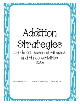 Addition Strategies: Games and Activities to Learn Basic Facts