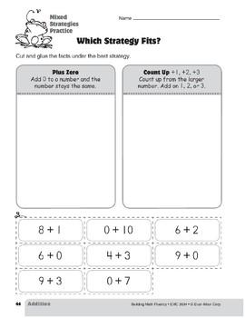 Addition Strategies, Grade 2: Mixed Strategies Practice