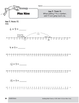 Addition Strategies, Grade 2: Plus Nine