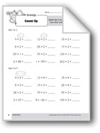 Addition Strategies, Grade 3: Count Up