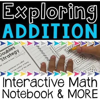 Addition Strategies Interactive Notebook and MORE!