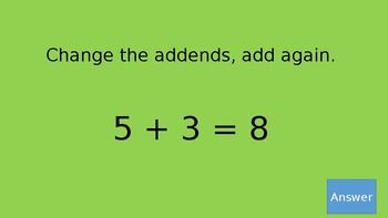 Addition Strategies Jeopardy (Chapter 3 GoMath)