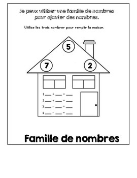 Addition Strategies/ Les Strategies D'addition: French Flipbook