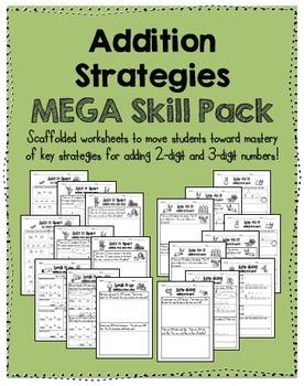 Addition Strategies MEGA SKILL PACK