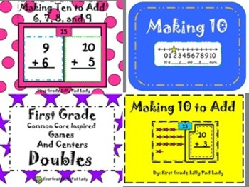 Addition Strategies Bundle: Making Ten and Doubles