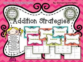 Addition Strategies Mega Pack
