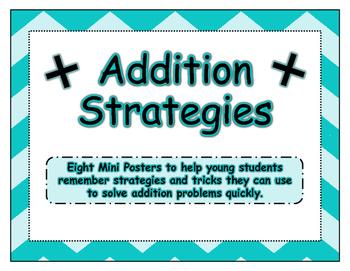 Addition Strategies Mini-Posters