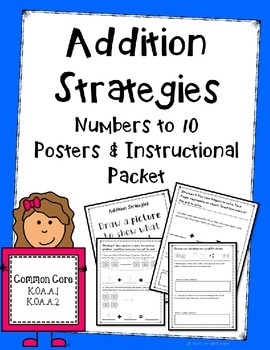 Addition Strategies Numbers to 10
