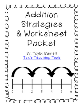Addition Strategies Packet