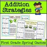 Addition Strategies Partner Games for Spring