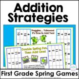 Addition Strategies Partner Games for Spring