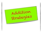 Addition Strategies Posters Primary Junior