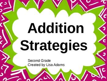 Addition Strategies Power Point Presentation