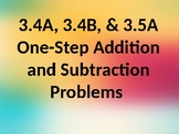 Addition Strategies PowerPoint TEKS 3.4A, 3.4B, 3.5A