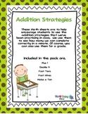 Addition Strategies Practice