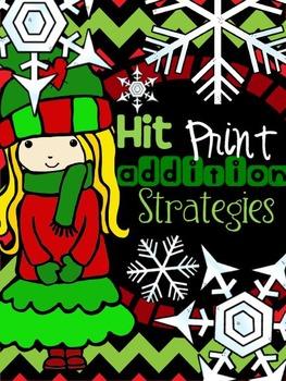 {December} Addition Strategies - Print & Practice