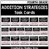 Addition Strategies Task Cards: Fourth Grade Bundle (Sums to 10,000)