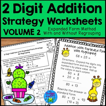Expanded Form Addition Worksheet Teaching Resources Teachers Pay